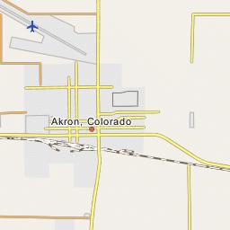 Colorado Plains Regional Airport Ako Kako Akron Colorado