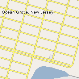 Map Of Ocean Grove New Jersey