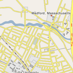 Tufts Medford Campus Map.Tufts University Medford Massachusetts